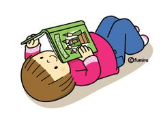 I like to read. Play School Activities, Picture Exchange Communication System, Color Flashcards, Picture Composition, Book People, Play To Learn, Cartoon Kids, Clipart, Cute Pictures
