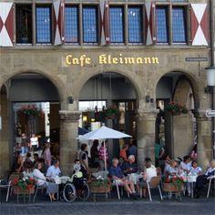 Terrassencafé am Prinzipalmarkt