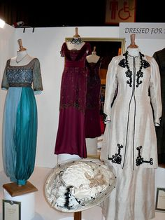 Downton Abbey costumes   Flickr - Love the white jacket.