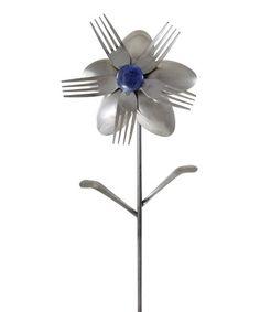 Another great find on #zulily! Angelia Flower Garden Stake by Forked Up Art #zulilyfinds