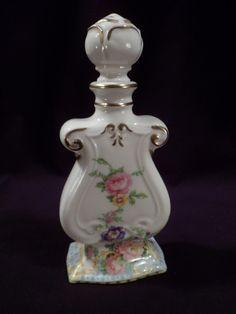 RARE Signed Bethwood Royal China Porcelain Perfume Bottle   eBay