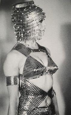 Miss Brigitte Bardot in Paco Rabanne
