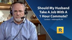 Should My Husband Take A Job With A 1 Hour Commute