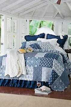 Deux Maries Quilt from Soft Surroundings