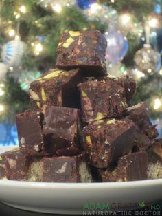 adamgrattonND: Recipe - Holiday Chocolate Bars with Gluten Free Shortbread