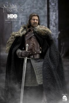 We will offer Game of Thrones Eddard Stark collectible for pre-order at threezerostore.com on September 15th 9:00AM Hong Kong time, with the exclusive bonus accessory 'Ice,' Eddard Stark's greatsword. Price at threezerostore.com: 160USD/1250HKD with worldwide shipping included in the price. Detailed info and photos: https://www.facebook.com/media/set/?set=a.950330254992803.1073741884.697107020315129&type=1&l=3f14a91a6d #threezero #HBO #GameOfThrones #GOT #collectible #toys #actionfigure