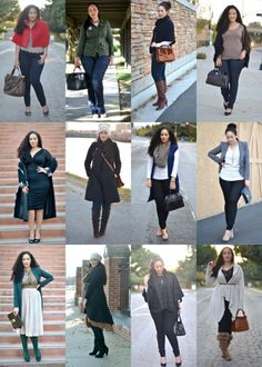 November 2011 plus size outfits