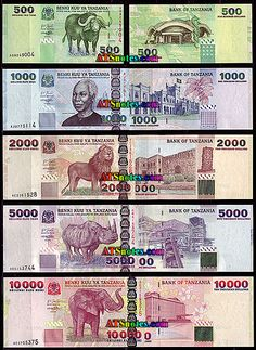 Tanzania banknotes - Tanzania paper money catalog and Tanzanian currency history Money Template, Money Worksheets, Money Notes, Money Cards, Thinking Day, Foreign Exchange, Financial News, Tanzania, History