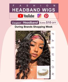 Coupon Code : Headband And Now Save Extrta Money For You Headband Wigs, 100 Human Hair Wigs, Lace Wigs, Wig Hairstyles, Black Women, Coupon, Money, Coupons, Silver