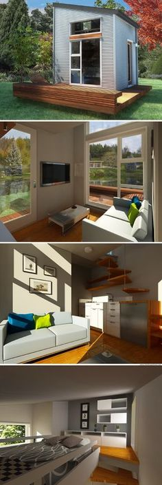 The NOMAD Micro Home (100 sq ft)