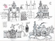 Draw a Haunted House by ~Diana-Huang on deviantART