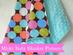 Minky Baby Blanket Pattern - Minky Sewing Pattern - Baby Blanket Pattern on Etsy, $1.99