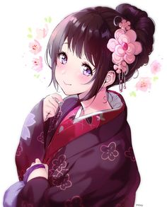 Discovered by ko. Find images and videos about cute, anime and kawaii on We Heart It - the app to get lost in what you love. Hyouka, Kawaii, Anime Lovers, Anime, Anime Characters, Anime Artwork, Anime Drawings