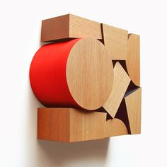 Brooches by Yurina Kira Japanese designer Yurina Kira has designed a range of wooden brooches for manufacturers Time