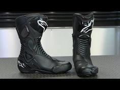 Alpinestars Women's Stella SMX-6 Waterproof Boots   Motorcycle Superstore - YouTube