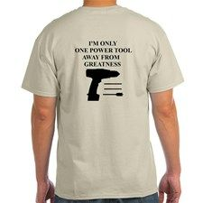 POWER TOOL DRILL T-Shirt for