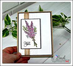 Stampin Up Lots of Lavender stamp set from Stampin Up #stampinup #stampinwithsandi #cardmakingblog #canadianstampinupdemonstrator #stampinupcanada #stampinupcardideas