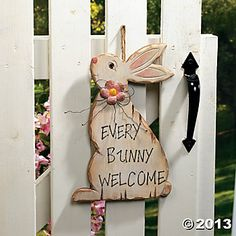 easter Primitive Country Decorating Ideas   ... Wall Art and Decorations, Home Decor - Terry's Village Holiday Decor