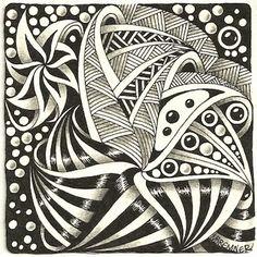 using Fengle, Pearlz, Tipple, Zewm and stripes:  (c)2014 Margaret Bremner; enthusiasticartist.blogspot.com