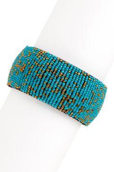 Bold & Beaded Bracelet