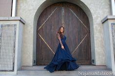 Luxurious, flowy gown for the pre-wedding events; #indianwedding  shaadishop.co PC: Braja Mandala Wedding Photography