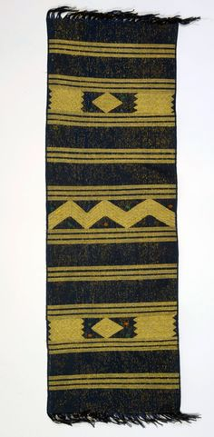 Africa | Cloth from the Igbira people of Nigeria | Cotton