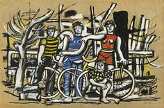 View L'Équipe By Fernand Léger; Gouache on tracing paper laid down on card; 14 by 20 in; Access more artwork lots and estimated & realized auction prices on MutualArt. Gouache, Francis Picabia, Georges Braque, India Ink, Sculpture, Pablo Picasso, Magazine Art, Types Of Art, Art Market