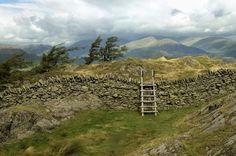 Rural English Lake District Landscape Photograph  by dsbrennan, $35.00