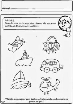 As 82 Melhores Imagens Em Transportes Preschool Infant Activities