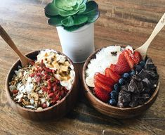 "726 Likes, 5 Comments - EMILY VENZ (@emilyvenz) on Instagram: ""My bestfriend makes the best acai bowls """