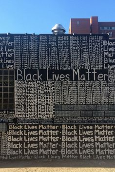 A White Artist Wrote 'Black Lives Matter' 2,000 Times. But His Mural Almost Said 'All Lives Matter.'