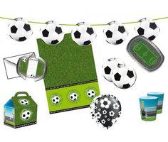 Thema kinderfeestje: voetbal