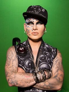 Nina Flowers, DJ for the Haus of Flowers, RPDR.