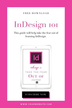 InDesign beginners guide. A 6 video course to help you learn the basics Planner Template, Printable Planner, Printables, Edit Text, Starting Your Own Business, Adobe Indesign, Page Layout, Planners, Texts
