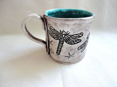 Hey, I found this really awesome Etsy listing at https://www.etsy.com/listing/199677629/dragonfly-ceramic-mug-large-tea-cup