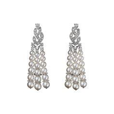 L'Odyssée de Cartier - Parcours d'un Style 'Indian Influences' Platinum, cultured pearls, brilliants.