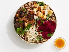 Recipe for: Shroomami. This recipe, inspired by sweetgreen, is a perfect healthy lunch or light dinner.