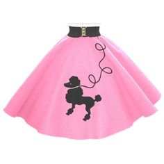 50's poodle skirts!  how I wanted one, but they were too old for me.