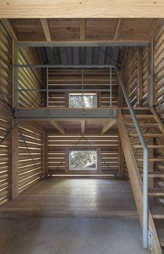 Yakushima Takatsuka Lodge, by 2014 Pritzker laureate Shigeru Ban