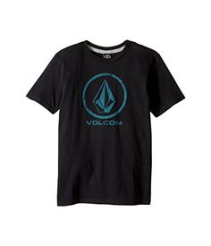 Volcom Little Boys Lino Stone Short Sleeve Tee Youth Black 4T -- You can find out more details at the link of the image.Note:It is affiliate link to Amazon.