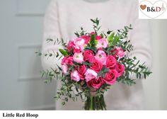 Fresh Flower Bouquet - Little Red Hoop