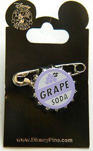 Disney Pin Up Grape Soda Bottle Top Badge | eBay, $15.00