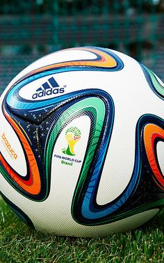 Adidas reveals the Brazuca, the official match ball of FIFA 2014 World Cup Soccer Gear, Soccer Equipment, Play Soccer, Football Soccer, Soccer Ball, Soccer Stuff, Fifa, Lionel Messi, Messi Y Ronaldinho
