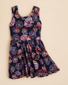 Splendid Girls' Floral Print Dress - Sizes 2-6X