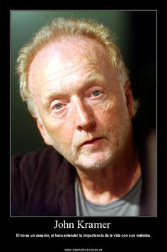 Photo of Tobin Bell for fans of Tobin Bell 2661808 Ghost Movies, Scary Movies, Horror Movies, Saw Traps, Jigsaw Saw, Horror Icons, Monty Python, Mystery Thriller, Horror Films