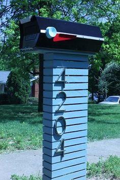 mid+century+modern+exteriors | Love this mid century modern mailbox | exteriors