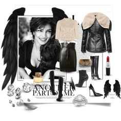 """devil or angel?"" by fashionavenue-pl on Polyvore"