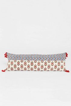 Magical Thinking Floral Block Pillow #urbanoutfitters