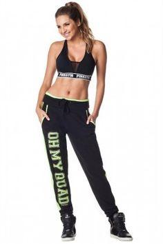 Calça Moletinho - Pink Gym CALX14001 Dani Banani Fashion Fitness