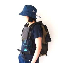 NEW and wander backpack 30L : Chalt